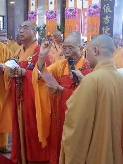 紹根長老出席吉隆坡慈雲山七寶寺主持聖像開光慶典